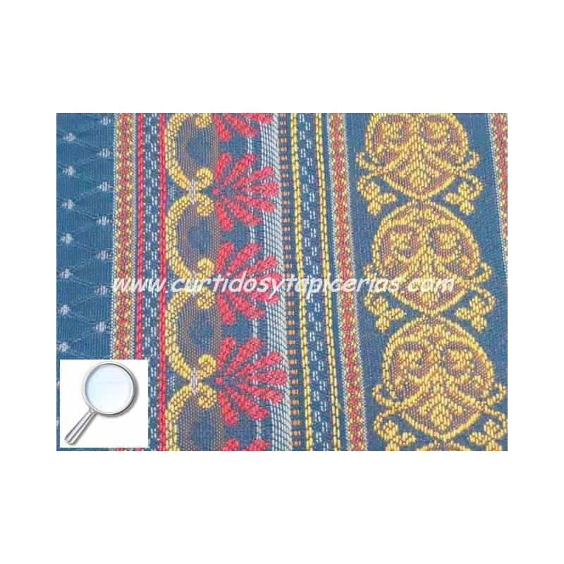 Tela para tapizar serie harmony azul - Telas de terciopelo para tapizar ...