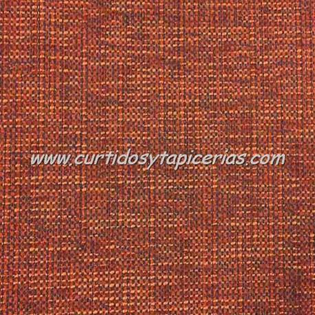 tela para tapizar muro naranja