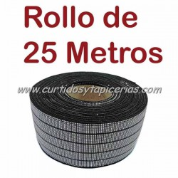 Cincha Elastica 80mm (Rollo de 25 mts)