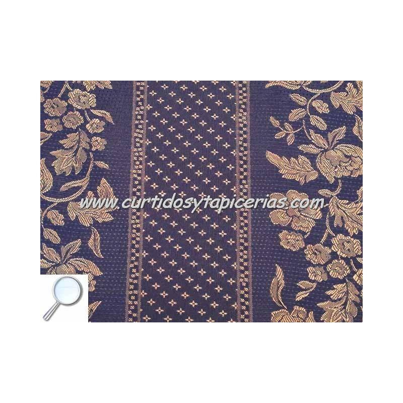 Tela para tapizar serie cenefa azul - Tela microfibra para tapizar ...
