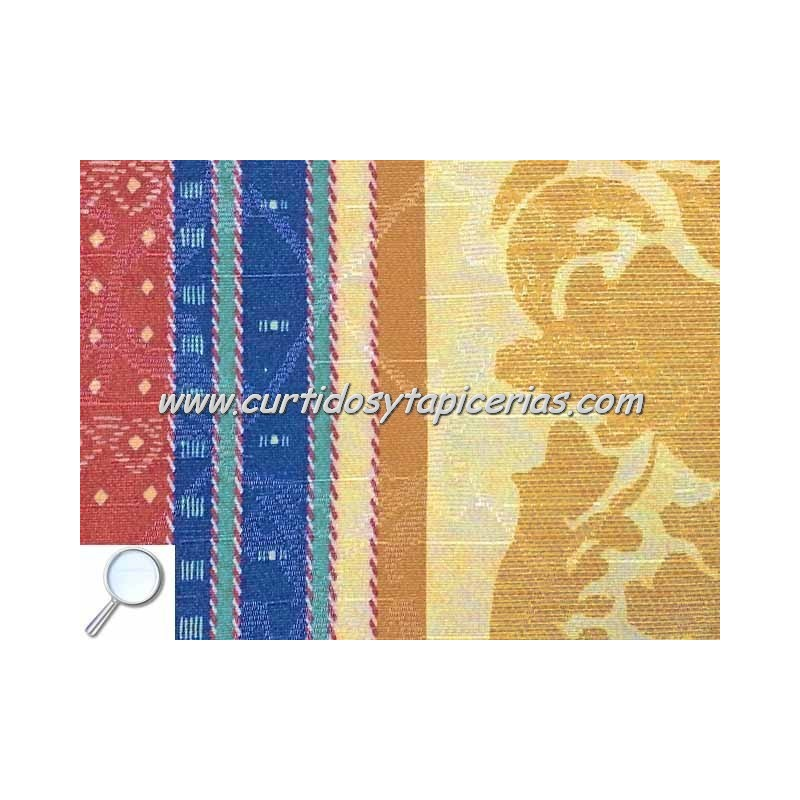 Tela para tapizar serie opera azul - Telas de terciopelo para tapizar ...