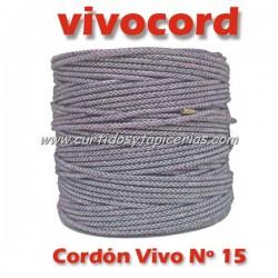Cordón Vivo Gris Normal Nº 15 (Vivocord)