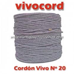 Cordón Vivo Gris Normal Nº 20 (Vivocord)