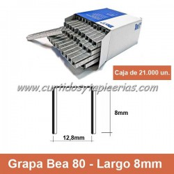 Caja de Grapas Bea 80/8