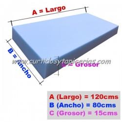 Goma Espuma Asiento Palet 15cm Grosor