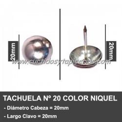 Tachuela Niquelada Nº 20