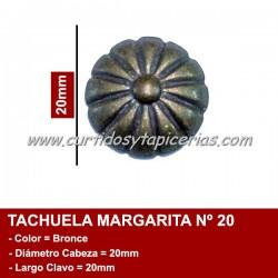 Tachuela Margarita color Bronce Nº 20