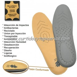 Plantillas de Piel Comfort Leather