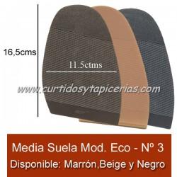 Media Suela Hecsan Nº 3 - Modelo Economico