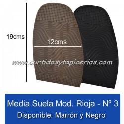 Media Suela Alba Rioja Nº 3