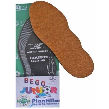 Plantilla Multitalla Bego junior (cuero + carbon activado)