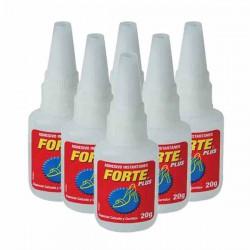 Pegamento Forte Plus 20gr. (cianocrilato) - POR CAJAS