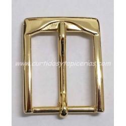 Hebilla de Cinturon de 35mm de paso (ref. 133) - Color Oro