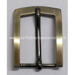 Hebilla de Cinturon de 30mm de paso (ref. 121) - Color Oro Viejo