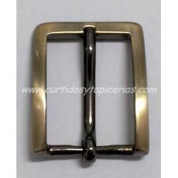 Hebilla de Cinturon de 30mm de paso (ref. 125) - Color Oro Viejo