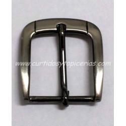 Hebilla de Cinturon de 30mm de paso (ref. 32) - Color Pavonado