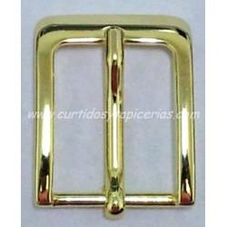 Hebilla de Cinturon de 30mm de paso (ref. 123) - Color Oro