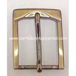 Hebilla de Cinturon de 35mm de paso (ref. 133) - Color Oro Viejo