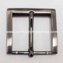 Hebilla de Cinturon de 40mm de paso (ref. 151) - Color Pavonado