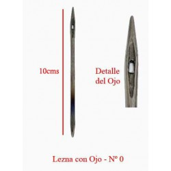Lezna con Ojo (perforada)
