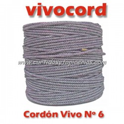 Cordón Vivo Gris Normal Nº 6 (Vivocord)