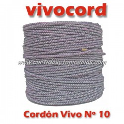 Cordón Vivo Gris Normal Nº 10 (Vivocord)