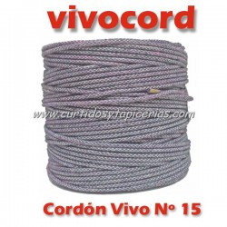Cordón Vivo Gris Normal Nº 15 (Vivocord)