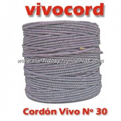 Cordón Vivo Gris Normal Nº 30 (Vivocord)