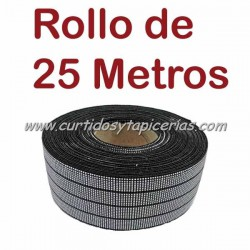 Cincha Elastica 40mm (Rollo de 25 mts)