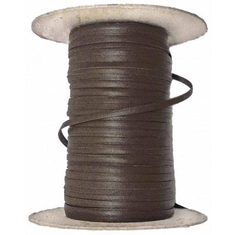 Rollo Tireta de Cuero para Coser (Marrón Chocolate)