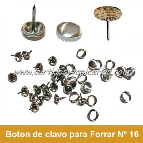 Botón de Tapicero con Clavo para Forrar - Nº 16