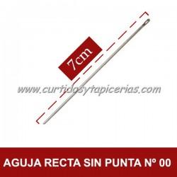Agujas Rectas sin Punta Nº 00