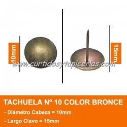 Tachuela Bronceada Nº 10