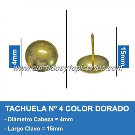 Tachuela Dorada Nº 4