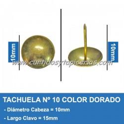 Tachuela Dorada Nº 10