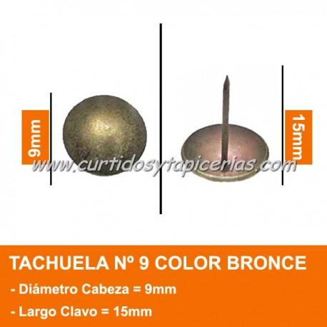 Tachuela Bronceada Nº 9