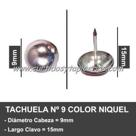 Tachuela Niquelada Nº 9