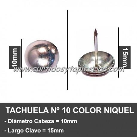 Tachuela Niquelada Nº 10