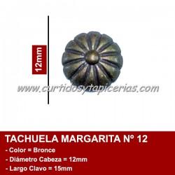 Tachuela Margarita color Bronce Nº 12