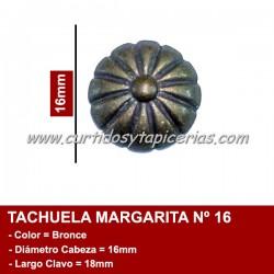 Tachuela Margarita color Bronce Nº 16