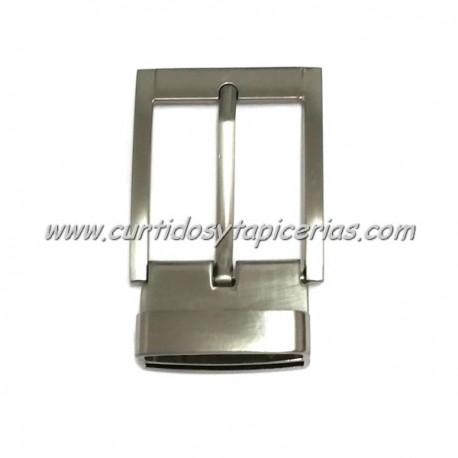Hebilla de Cinturon con Dientes de 35mm de paso - Color Niquel