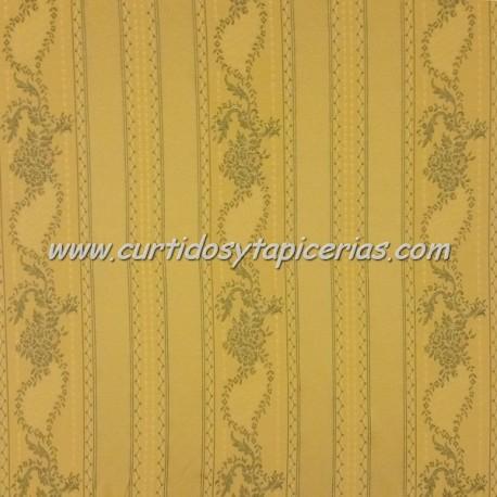 Tela para Tapizar Melody Color Amarillo