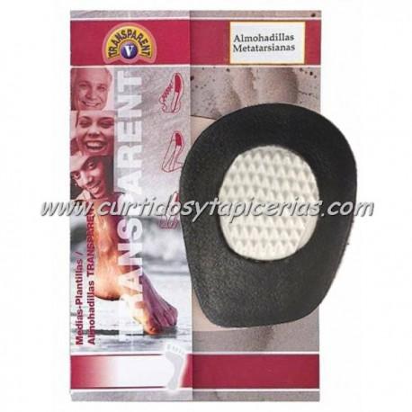 Almohadilla Metatarsiana Badana - Latex (plantilla de piel/latex) - Color Negro
