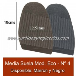 Media Suela Hecsan Nº 4 - Modelo Economico