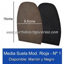 Media Suela Alba Rioja Nº 1