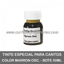 Tinta para Cantos - Color Marrón Oscuro