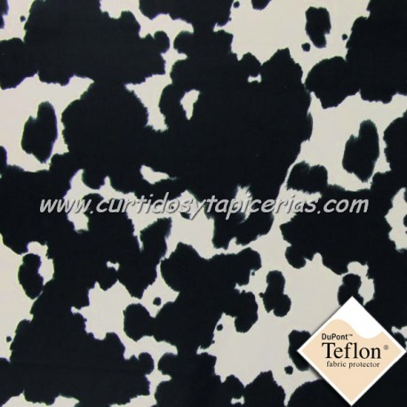 Tela para Tapizar Imitacion Vaca Lechera - Ref. Dolly 03