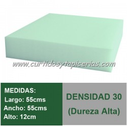 Cojín Espuma Med. 55x55x12cm D-30
