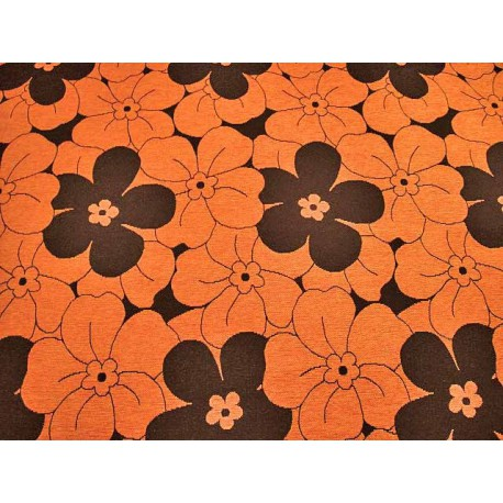 Tela de Tapiceria Donna color J-26 Naranja