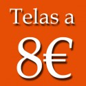 TELAS A 8€ METRO